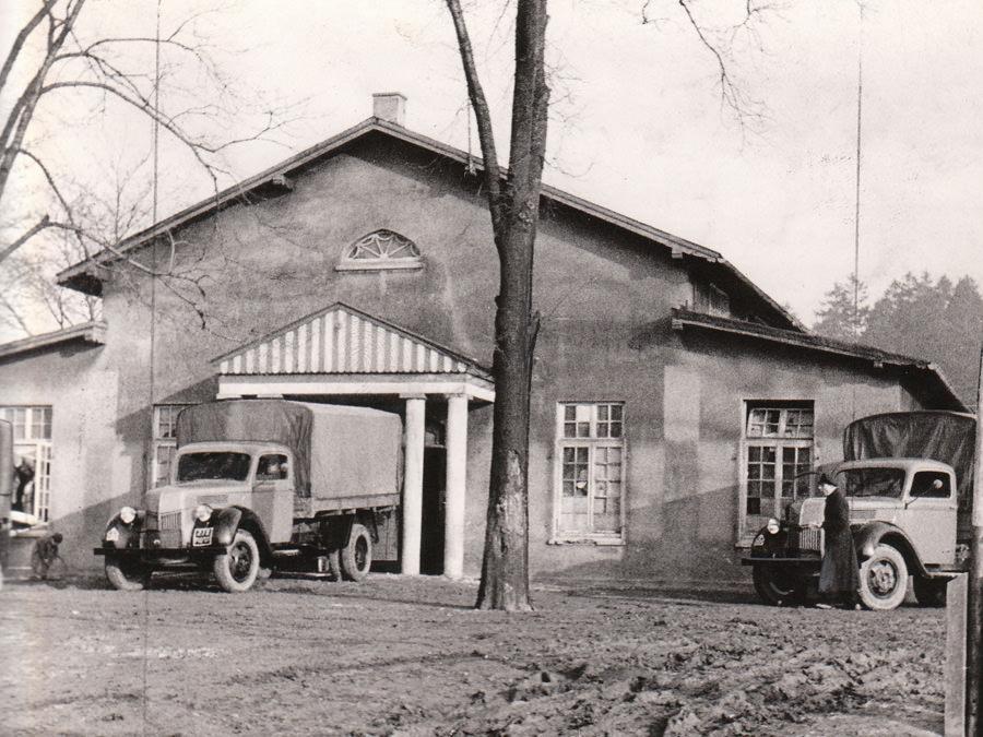 Die Schützenhalle auf dem Schützenberg in Halle/Westfalen