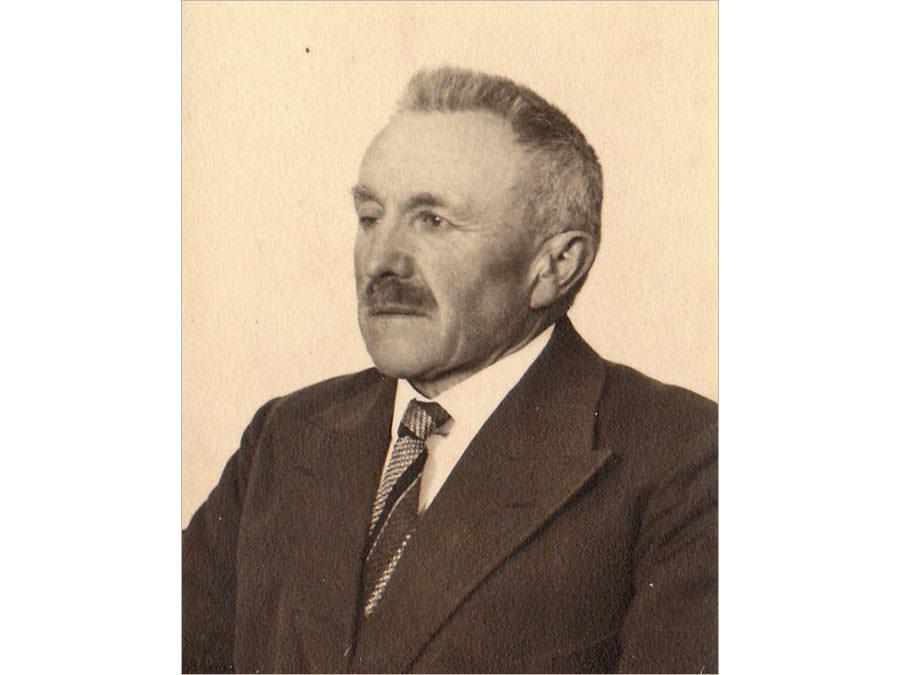 Wilhelm Ellerbrake Bürgermeister von Eggeberg bei Halle/Westfalen