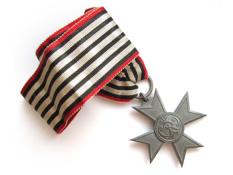 Ehrenkreuz für Kriegshilfsdienst im Ersten Weltkrieg (verliehen ab 1916) aus Hörste bei Halle Westfalen