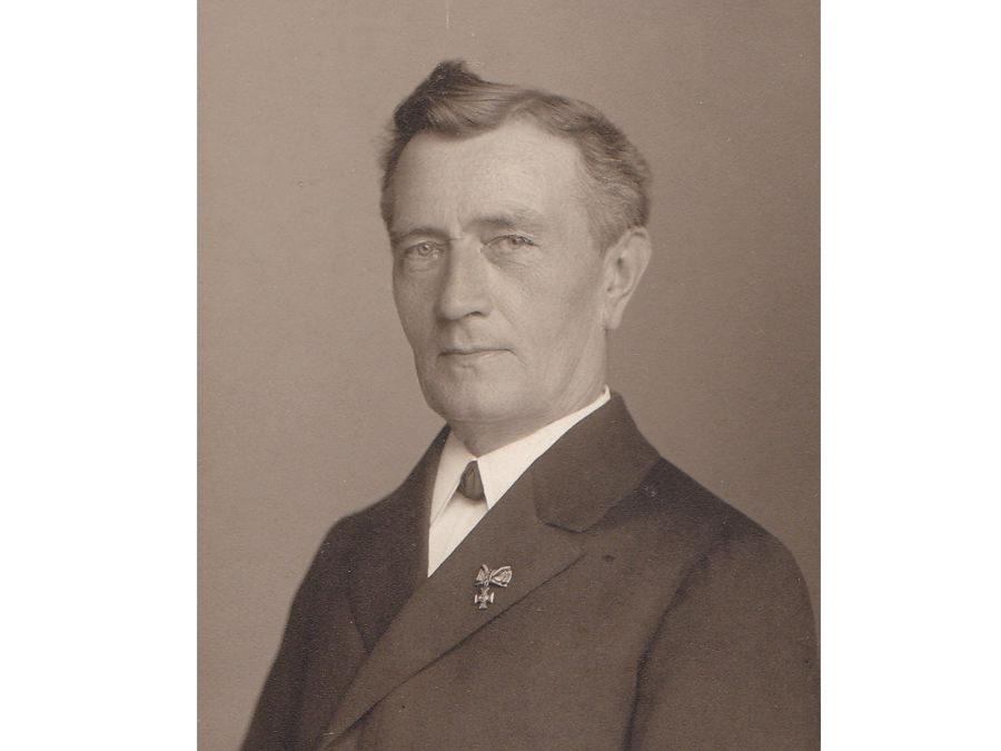 Heinrich Strakerjahn aus Halle leitete eine Schule für Gehörlose in Lübeck