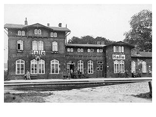 Bahnhof Halle