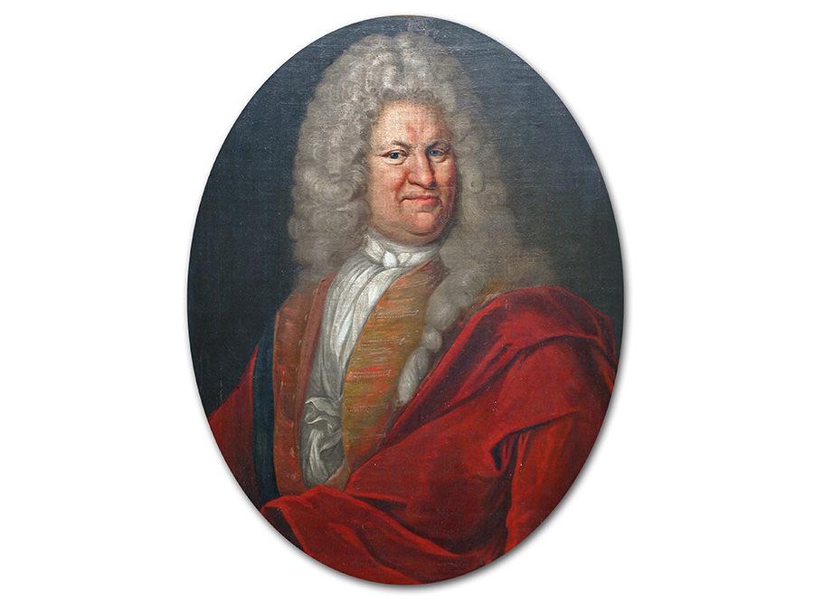 Sonderausstellung Haller Persönlichkeiten, Portrait Hermann Aldoph Meinders