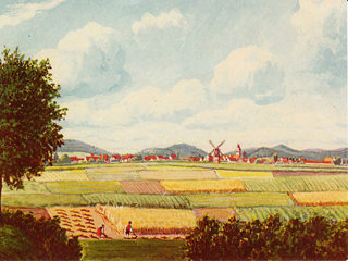 Windmühle auf der Lindart