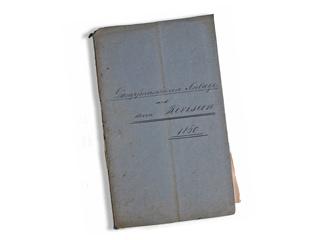 Dampfmaschinen-Kesselbuch