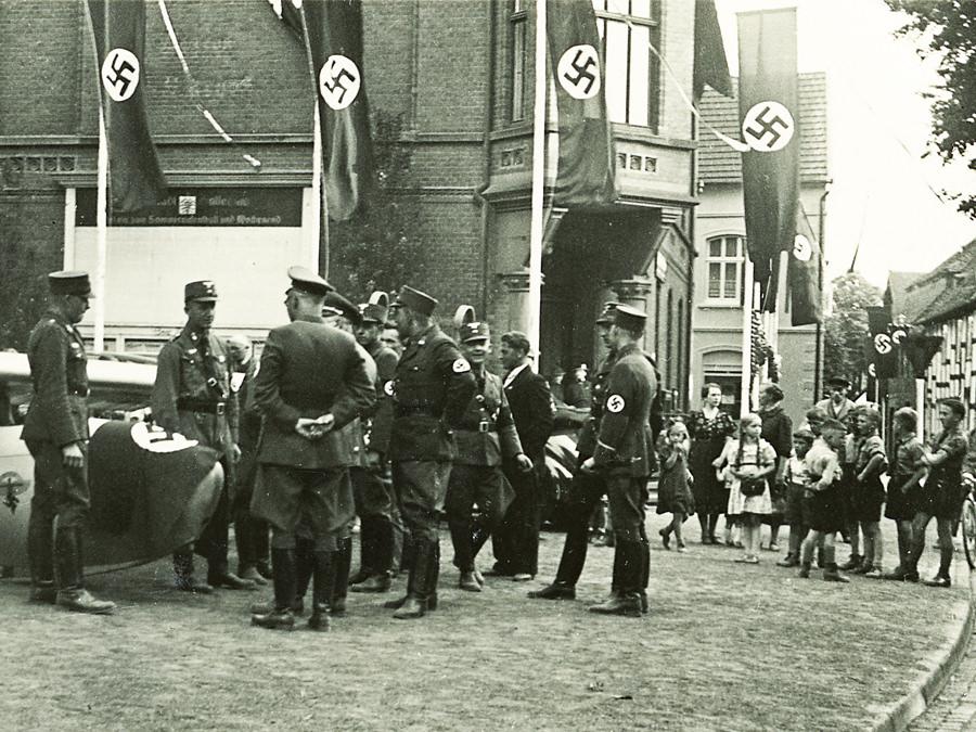 Westfalenfahrt der Alten Garde der NSDAP Juni 1939