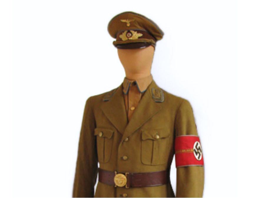 Uniform NSDAP-Zellenleiter aus Halle Westfalen