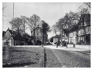 Lindenplatz – Ortsdurchfahrt Halle