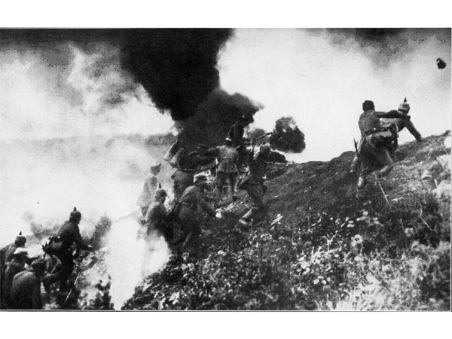 Höhe 304, Erster Weltkrieg 1916. Foto: Hermann Rex.