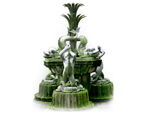 Delfinbrunnen
