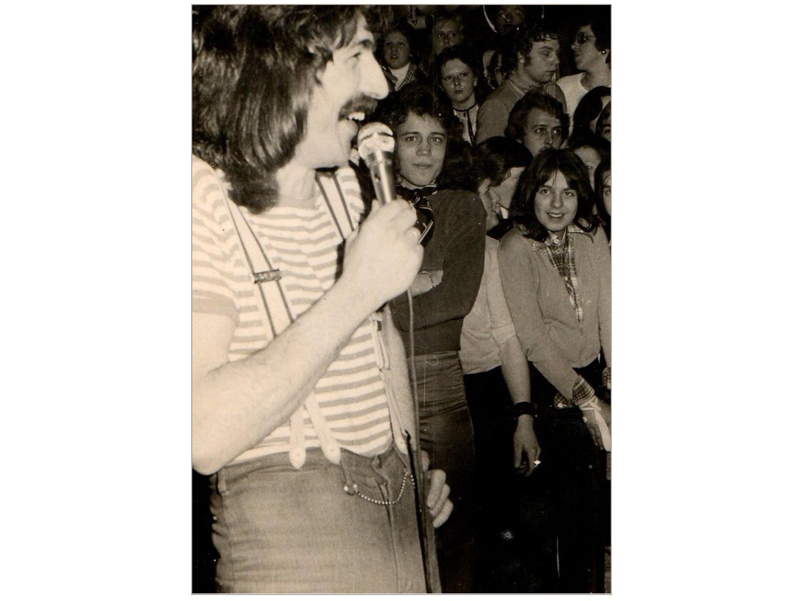 Diskothek Popeye 1976. Leihgabe von Kalle Möller.