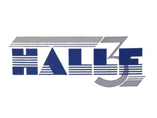 Logo des Halle3 in Halle/Westfalen 1984.