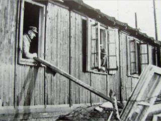 Zwangsarbeiter üben Vergeltung