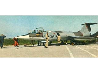 Starfighter-Absturz